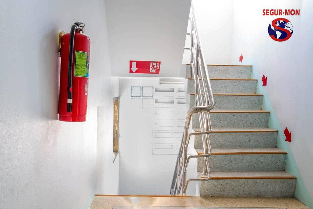 Com s'han d'instal•lar els extintors?